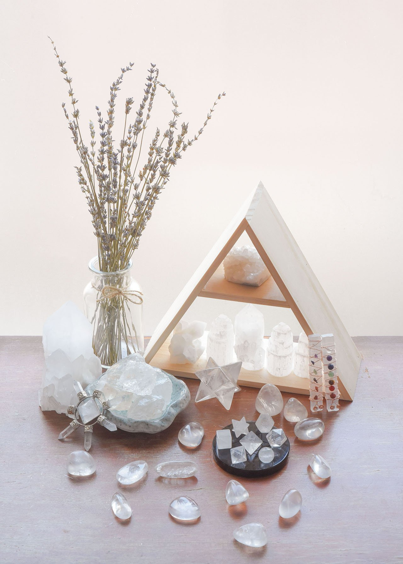 MANIFO 7pcs Quartz Crystal Platonic Solids Sacred Geometry Set Nautral Gemstones Kit with Merkaba StarFor Chakra Reiki Healing Energy,Yoga Meditation,Wicca,Therapy(Clear Quartz)