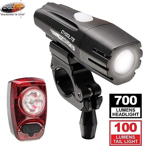Cygolite Metro 700 Lumen Headlight & Hotshot 100 Lumen Tail Light