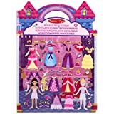 Melissa & Doug - 19100 - Autocollants En Relief Repositionnables Princesses