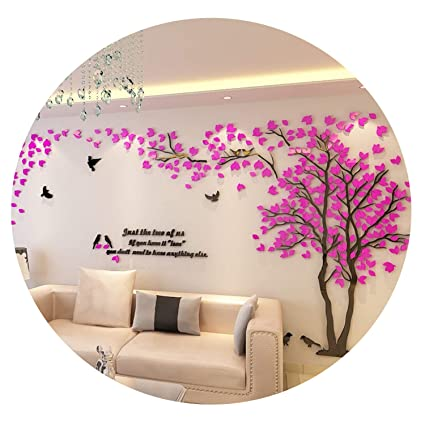 Amazon.com: 2019 Lovers Tree Wall Stickers Living Room Sofa ...