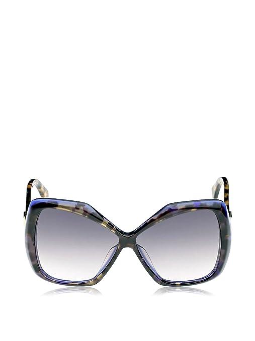 1f864bfc510 Fendi Women s 0092 Yellow Tortoise Frame Dark Grey Gradient Lens Plastic  Sunglasses  Amazon.co.uk  Clothing