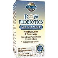 Garden of Life - RAW probiotici uomo 50 e più saggio - 90 capsule vegetariane