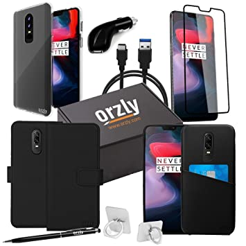 ORZLY Ultimate Pack para OnePlus 6 (Cable de Carga USB Tipo ...