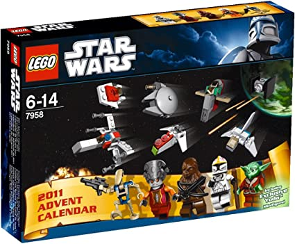 SDCC 2011 Comic-Con Exclusive LEGO Star Wars Advent Calendar Set 7958