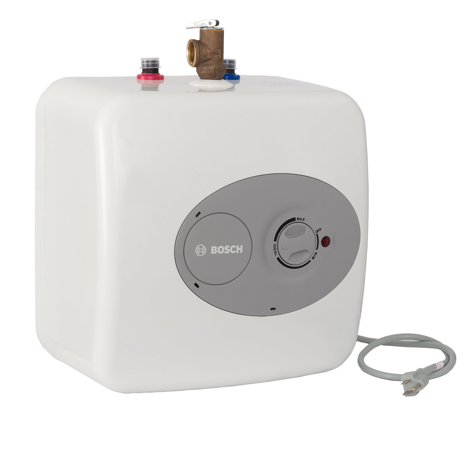 Bosch Electric Mini-Tank Water Heater Tronic 3000 T 2.5-Gallon (ES2.5)  - Eliminate Time for Hot Water - Shelf, Wall or Floor Mounted by Bosch Thermotechnology