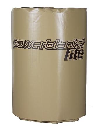 powerblanket pbl200 F de EU Lite aislado de cobertura contenedores Calefacción Completo, contenedores Manta eléctrica