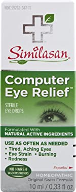 Similasan Computer Eye Relief Eye Drops 0.33 Fluid Ounce, for Temporary