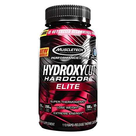 Muscletech Hydroxycut Elite 110 Capsules fat burner