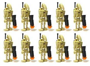 Amazoncom LEGO Star War LOT of 10 BATTLE DROID Figures with