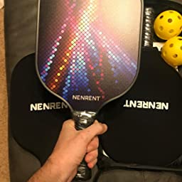Amazon.com : NENRENT Pickleball Paddles Sets of 2 -Premium ...