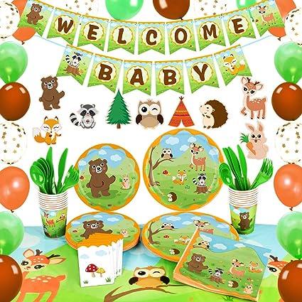 Decoracion De Baby Shower De Animales.Wernnsai Decoraciones Para Fiestas Baby Shower De Animales