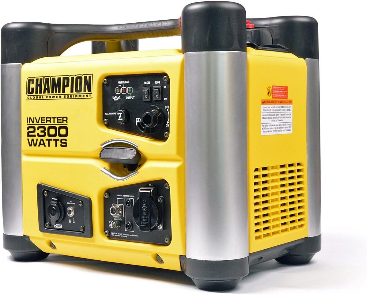 Champion 3100 Watt Inverter Benzin Generator Notstromaggregat Stromerzeuger EU