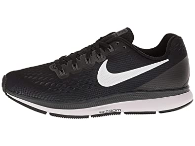 timeless design b38f6 7f0d9 Image Unavailable. Image not available for. Color  Nike Women s Air Zoom  Pegasus 34 Running Shoe Black White Dark Grey Anthracite