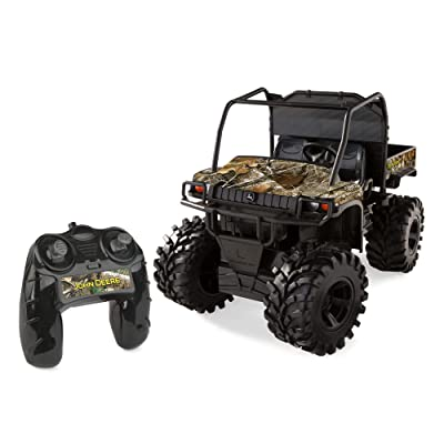 John Deere Monster Treads Realtree Camo Remote Control Gator: Toys & Games