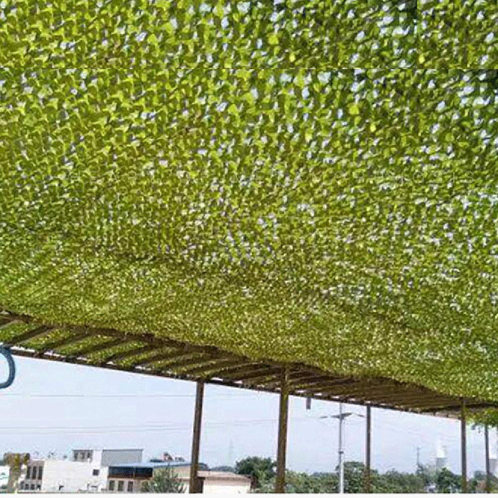 GDMING Shading Net Outdoor Activity Shootout Thin and Light Durable Multipurpose Oxford Cloth, 38 Sizes (Color : Green, Size : 6x12m) by GDMING-Sunshading Net (Image #2)