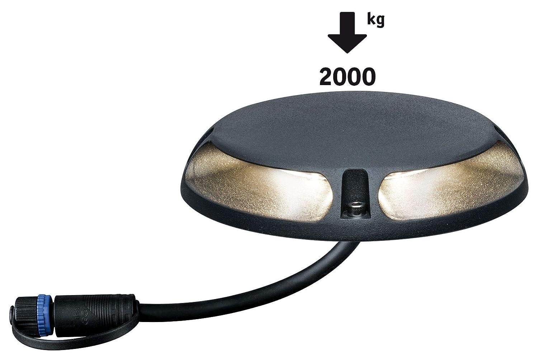 Paulmann 939.19 Outdoor Plug /& Shine Boden Aufbauleuchte IP67 3000K 3W 24V 93919 Aussenbeleuchtung Wegeleuchte