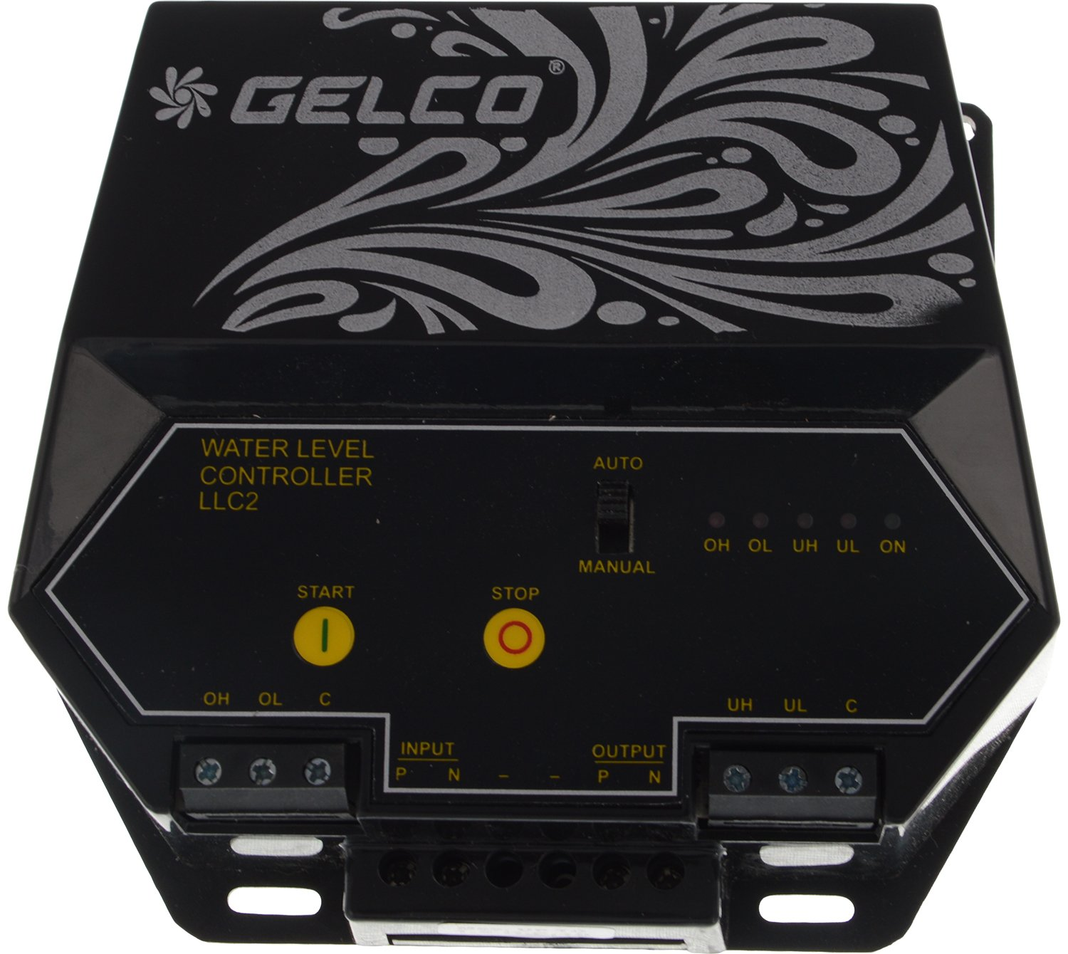 71E5b3252mL._SL1500_ buy gelco llc 2 plastic 230 volts water level controller (black gelco water level controller wiring diagram at n-0.co