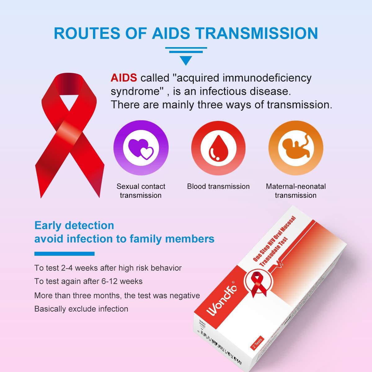 Wondfo HIV Saliva Test Kits One Step HIV Oral Mucosal Transudate