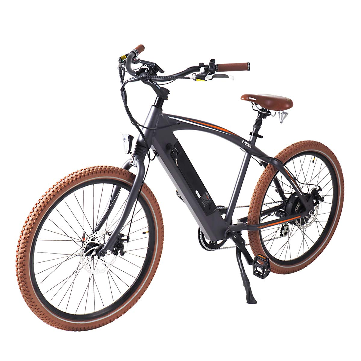 "Onway 26"" Beach 7-Speed Fat Tire Electric Bicycle"