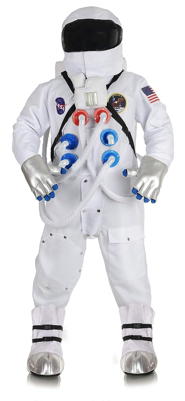 Men's Deluxe Astronaut Space Station Walk Suit Costume