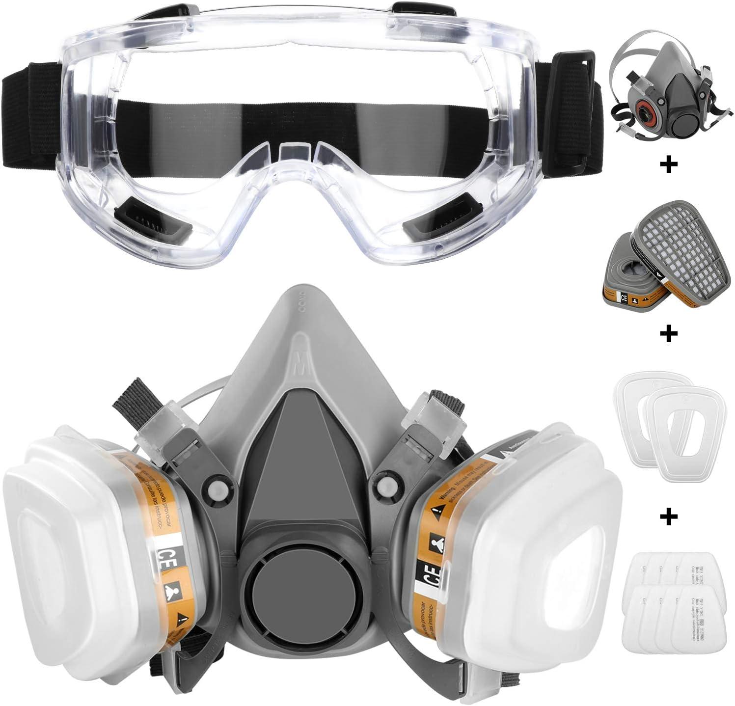 IVSUN – respirator kit - best respirator for spray painting