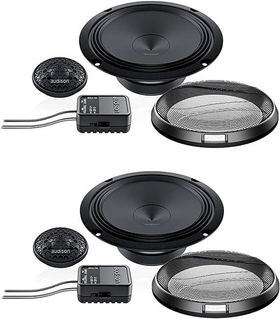 Audison Prima Apk165 Komponenten Lautsprechersystem Mit 26 Mm Hochtöner 16 Cm