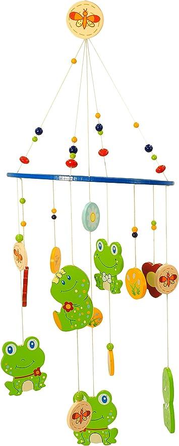 Traumf/änger Windspiel // Tiere Mobile Baby Spielzeug Marienk/äfer /& lustige Tiere alles-meine.de GmbH Holzmobile Unruhe aus Holz M/ädchen /& Jungen //.. incl Name Babys
