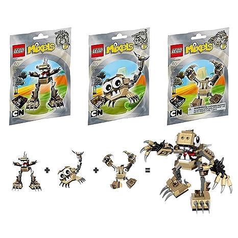 Amazon Lego Mixels Series 3 Bundle Set Of Spikels Footi