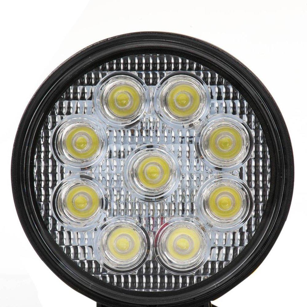 quadratisch Nebel Tag fahren Lampe f/ür ATV Jeep Auto und LKW IP67 DC12V 24V 10 St/ück Leetop 48W Offroads LED Spot Arbeitsleuchte