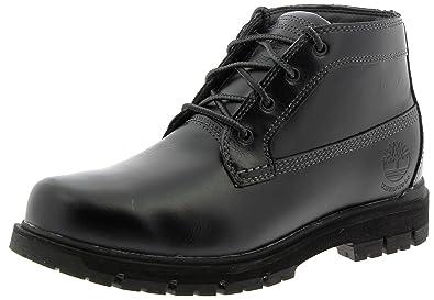 be73bd7dd038 Timberland Mens Radford Chukka Waterproof Black Leather Boots 10.5 US