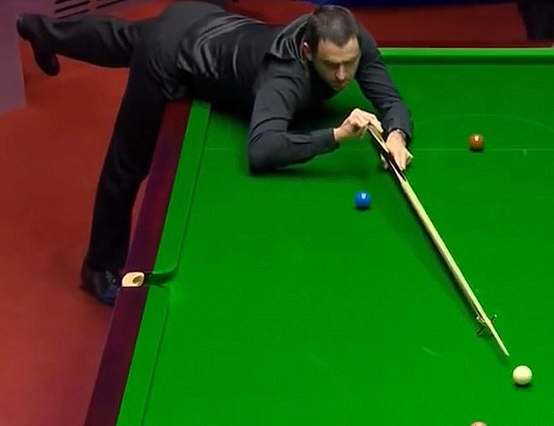 Dunns Cues Ronnie Osullivan Replik Einteiler Snooker Queue Die Rocket handgemachte Asche Snooker Queue.