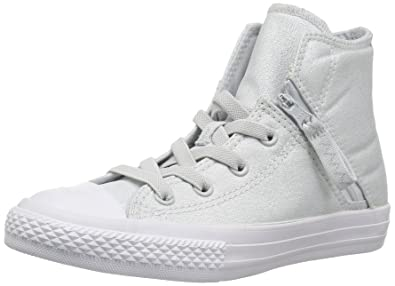 7421e7b3230f75 Converse Kids  Chuck Taylor All Star Pull-Zip High Top Sneaker