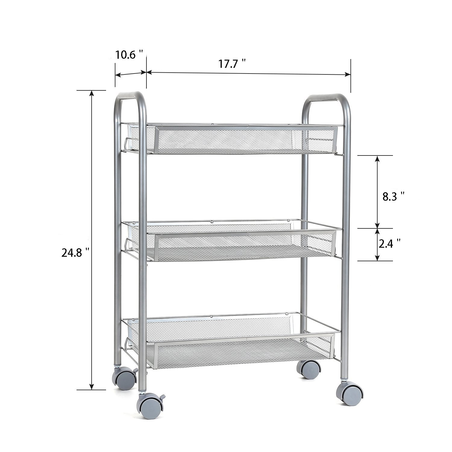 Stunning Wire Storage Cart With Wheels Ideas Electrical