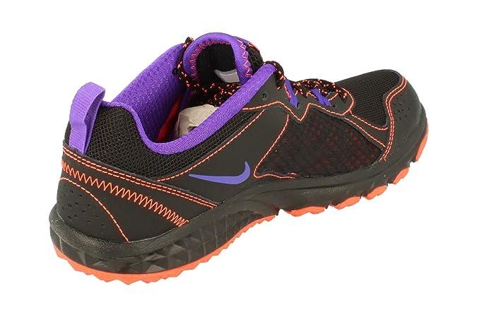 Nike Damen Wmns Wild Trail Laufschuhe, Gris (Dust/Chalk Blue-Volt), 38 EU