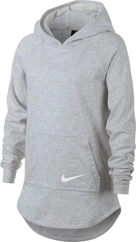 Nike Girls Sportswear Jersey Hooded Pullover
