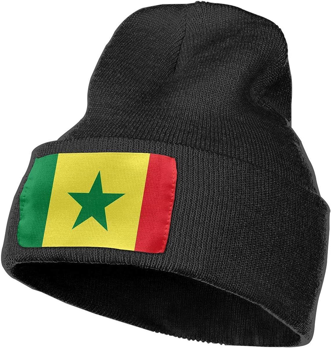 100/% Acrylic Acid Mas Beanie Hat Ruin Senegalese Flag Fashion Knitting Hat for Men Women