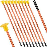 10 Piezas Juguetes de Flechas de Repuesto con Ventosa Flechas de Reemplazo de Tiro con Arco con Punta de Goma para Niños…