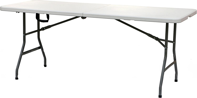 Homelux 820340 Table Pliante en r/ésine 180 x 75 x 74 cm