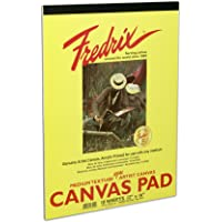 Fredrix 3497 Canvas Pads, 10 by 14-Inch