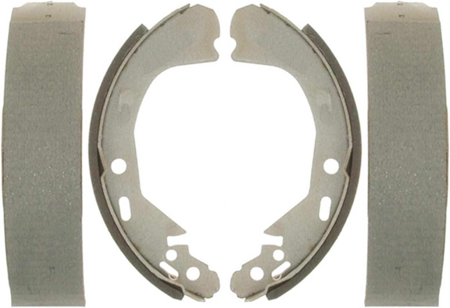 ACDelco 14729B Advantage Bonded Rear Brake Shoe Set