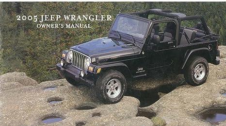 amazon com bishko automotive literature 2005 jeep wrangler owners rh amazon com 1997 Jeep Wrangler Owner's Manual 2010 Jeep Wrangler Owner's Manual