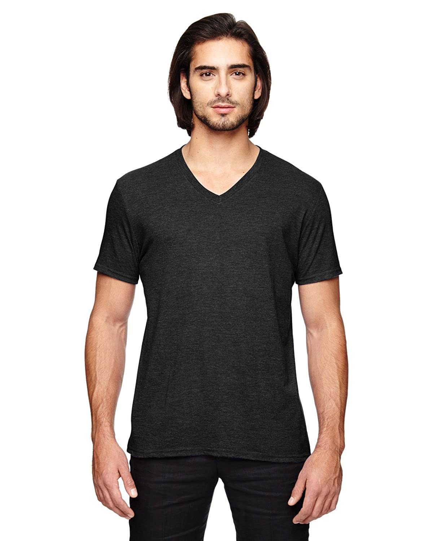 6752 Anvil Mens Triblend V-Neck T-Shirt