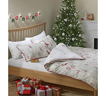 Collection Nordic Christmas Bed in a Bag Set - Kingsize: Amazon.co ...