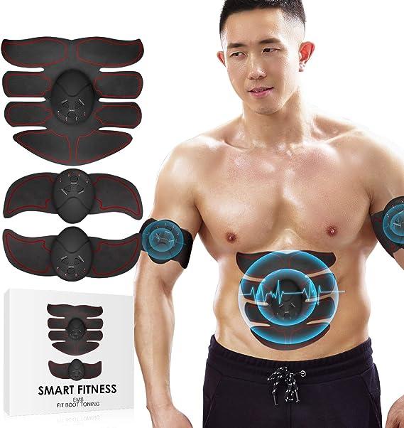 【2019最新強化版】Soroby EMS 腹筋ベルト ダイエット器具 腹筋マシン フィットネスマシン 10段階調節 6モード 筋力