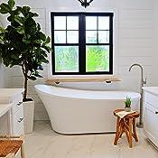 Ove Decors Freestanding Bathtub In Glossy Contemporary
