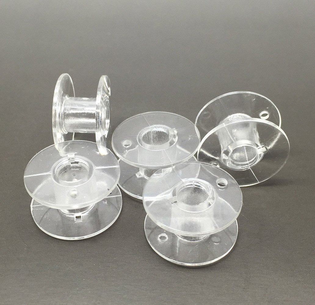 20pcs 2.1cm Clear Plastic Domestic Sewing Machine Bobbins for Brother /Singer /Toyota /Janome AUSTIN