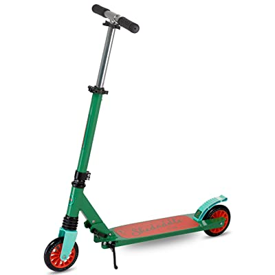 Scooter for Kids | 2 Wheel Scooter for Boys | Two Wheel Scooter for Girls | Outdoor King Kids Scooters | Folding Kids Scooter Easy to Transport | Scooride Skeddadle (Green): Toys & Games