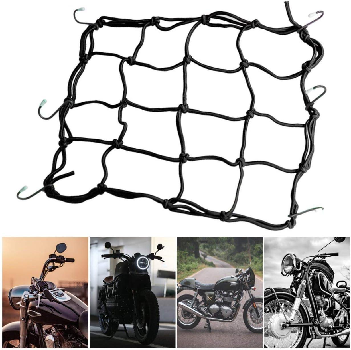 30x30cm Luggage Cargo Mesh Net Car Accessories Motorcycle Bike Helmet Holder