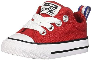 51bbe4840b00 Amazon.com  Converse Boys Infants  Chuck Taylor All Star Street Slip ...