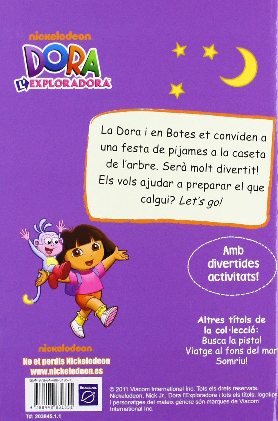 Festa de pijames (Dora lexploradora. Pictogrames): Amazon.es: Nickelodeon, MYR Servicios Editoriales S.L.;: Libros